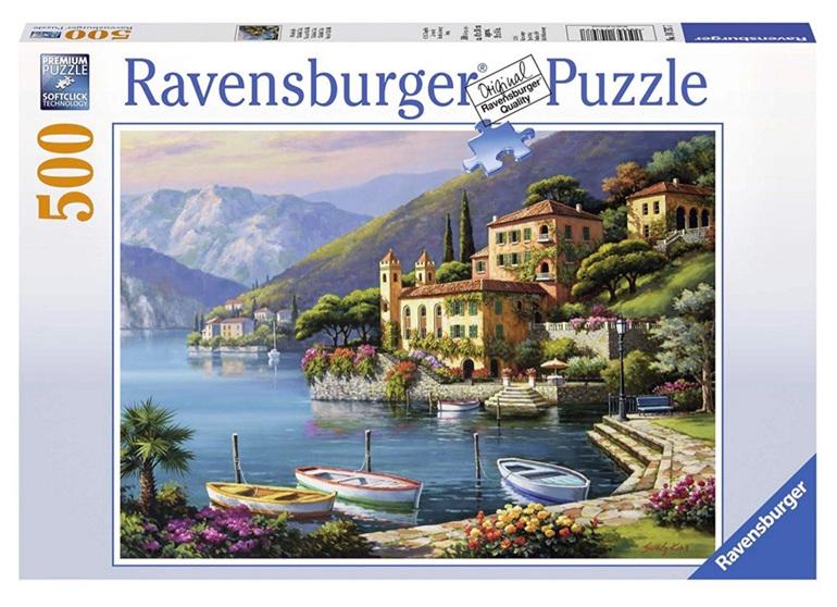 Ravensburger 500 Piece  Puzzle Villa Bella Vista buy at www.puzzlesnz.co.nz