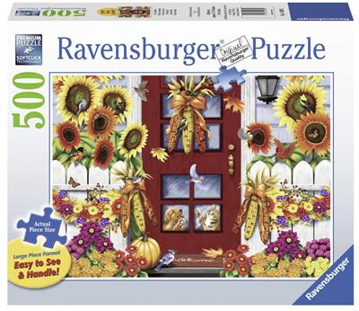 Ravensburger 500XL Piece Jigsaw Puzzle: Autumn Birds