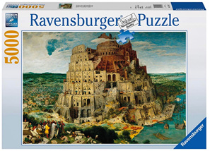 Ravensburger 5000 Piece  Jigsaw Puzzle: The Tower Of Babel