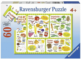 Ravensburger 60 Piece Jigsaw Puzzle: A Healthy Diet