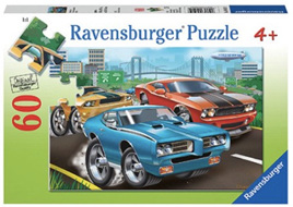 Ravensburger 60 Piece  Jigsaw Puzzle: Muscle Cars