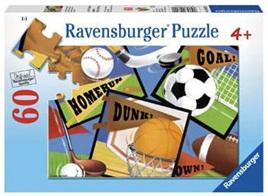 Ravensburger 60 Piece Jigsaw Puzzle: Sports! Sports! Sports!