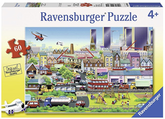 Ravensburger 60 Piece  Jigsaw Puzzle: Busy Neighbourhood