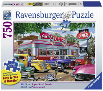 Ravensburger 750 Piece  Jigsaw Puzzle: Meet You At Jacks