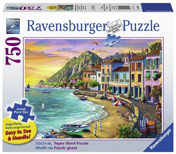 Ravensburger 750 Piece  Jigsaw Puzzle: Romantic Sunset