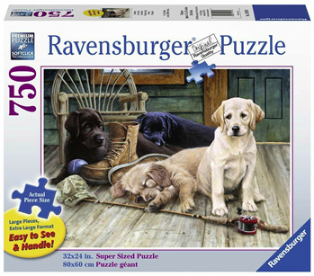 Ravensburger 750 Piece  Jigsaw Puzzle: Ruff Day