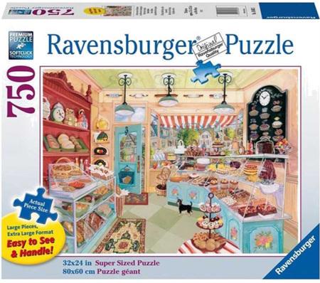 Ravensburger 750XL Piece Jigsaw Puzzle:  Corner Bakery