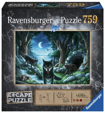 Ravensburger 759 Piece Jigsaw Puzzle: ESCAPE Curse Of The Wolves