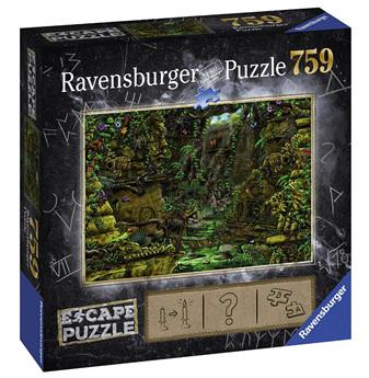 Ravensburger 759 Piece  Jigsaw Puzzle: ESCAPE Temple Grounds