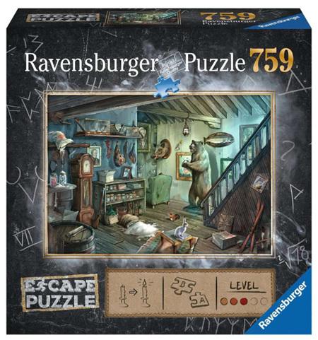 Ravensburger 759 Piece Jigsaw Puzzle: ESCAPE - The Forbidden Basement