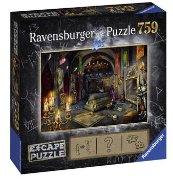Ravensburger 759 Piece Jigsaw Puzzle: ESCAPE Vampires Castle