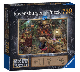 Ravensburger 759 Piece  Jigsaw Puzzle: ESCAPE   Witches Kitchen