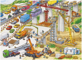 Ravensburger 100 Piece  Jigsaw Puzzle: Construction Site