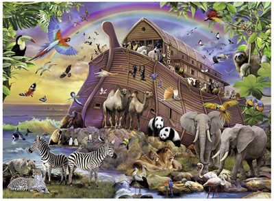 Ravensburger 150 Piece Jigsaw Puzzle: Boarding The Ark