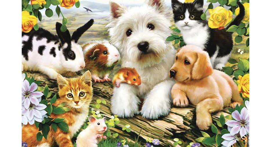 Ravensburger 300 Piece Jigsaw Puzzle: Happy Animal Babies