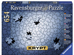 Ravensburger Krypt Silver 654 piece jigsaw puzzle buy at www.puzzlesnz.co.nz