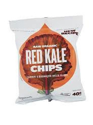 Raw Organic Kale Chips 40g - Red