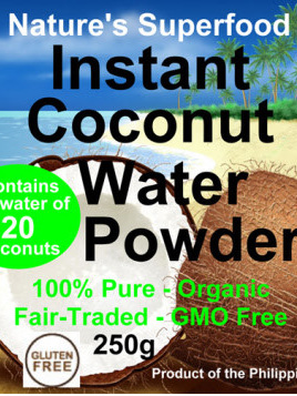 Raw Planet Coconut Water Powder 125g