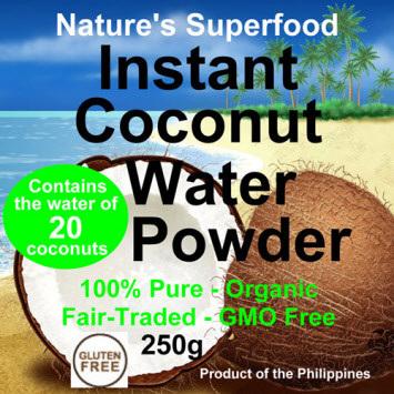 Raw Planet Coconut Water Powder - 2 Sizes