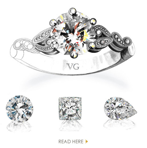 read about custom jewellery design at The Village Goldsmith