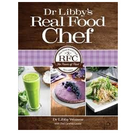 Real Food Chef (Hard Cover Book - Autographed)