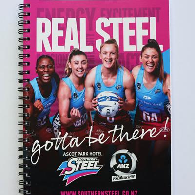 'REAL STEEL' NOTEBOOK