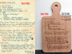 Recipe Boards