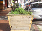 Reclaimed Timber Planters