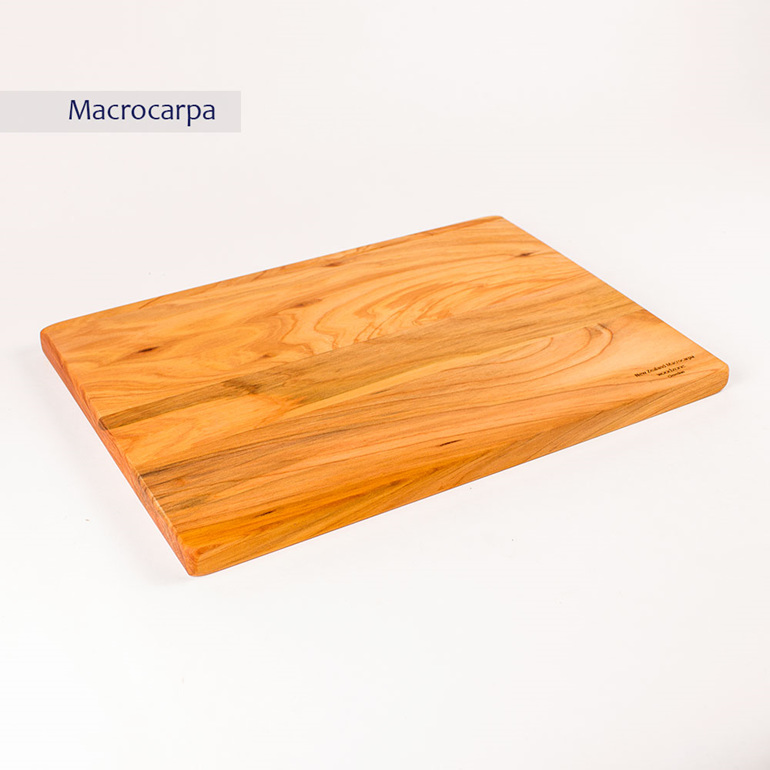 rectangle board - medium - macrocarpa 350x250x20
