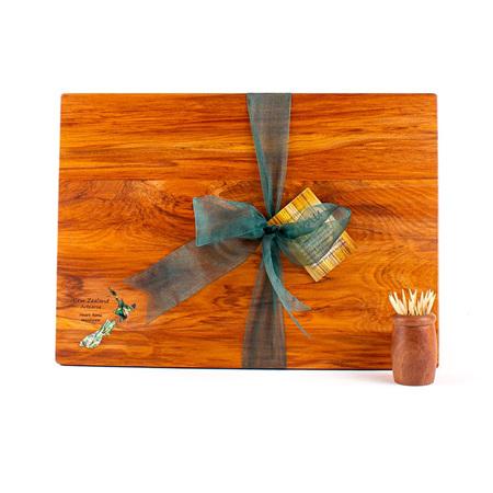 Rectangle Board with Paua