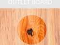 Rectangle Chopping Board Large - OUTLET C GRADE