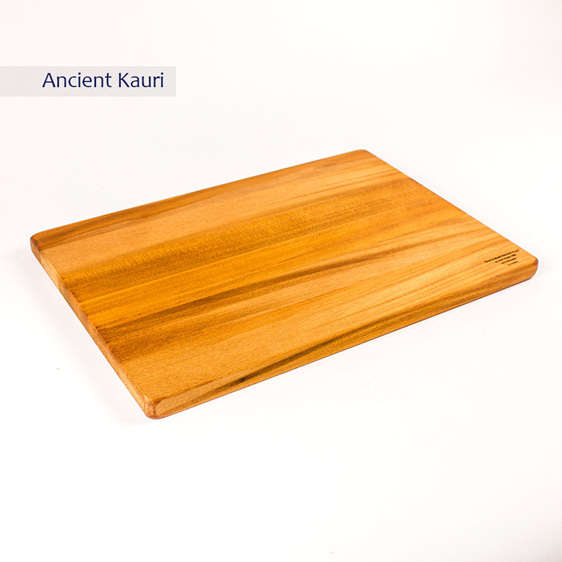 rectangle chopping board - medium - ancient kauri - 350x250x20