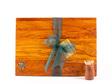 rectangle chopping board medium heart rimu - paua koru
