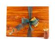 rectangle chopping board medium heart rimu - paua map