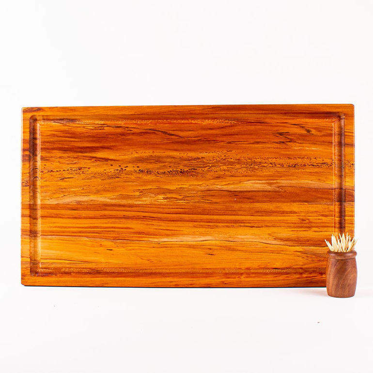 Rectangle Chopping Board Medium Long with Juice Groove