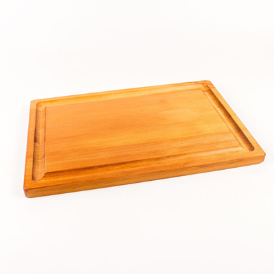 Rectangle Chopping Board with Groove - Medium