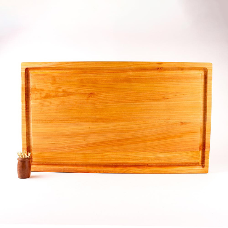 Rectangle Chopping Board with Juice Groove - XL Thick