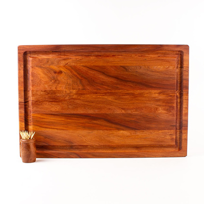 Rectangle Chopping Board XL with Juice Groove