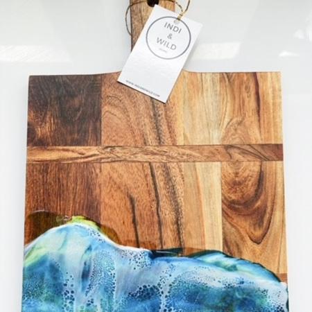 Rectangle Grazing Board - Ocean Style