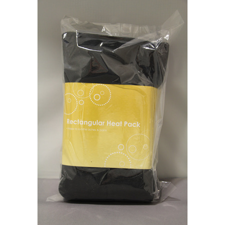 Rectangle Heat Pack Black