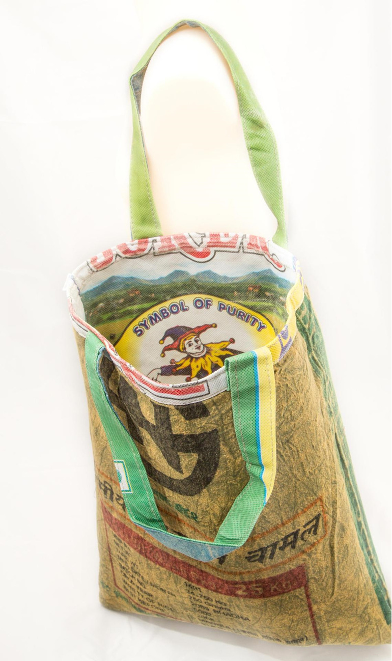 Recycled rice bag purse - Recycled Rice Bag Purse Recycled Rice Bag Purse Recycled Rice Bag Purse Get Rice Bag