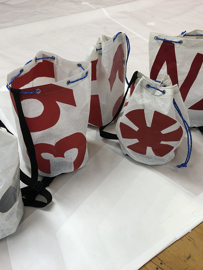 Recycled Sailcloth Duffle