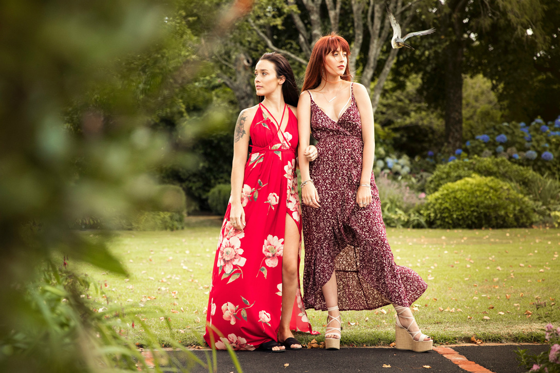 Rosetta Dress and Olivia Dress