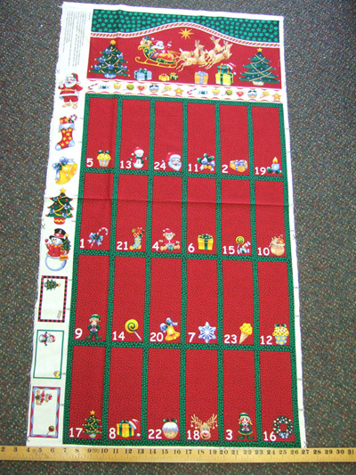 Red Advent Calendar