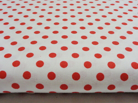 Red and White Spot 4517L