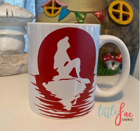 Red Ariel Mug