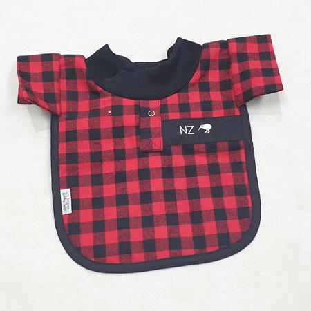 Red Bush Shirt Bib