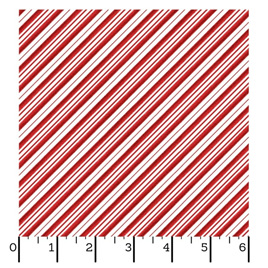 Red Candy Cane Stripe 9378-R