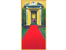 Red Carpet Floor Runner - Great for Hollywood Parties
