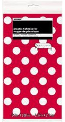 Red Dots Tablecover